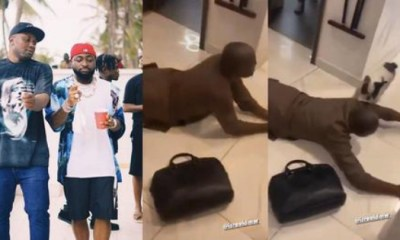 Israel DMW Prostrates For Davido