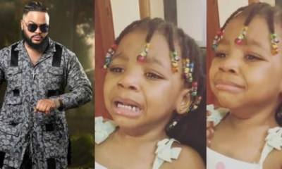 A Video Of A Little Girl Crying To See White Money