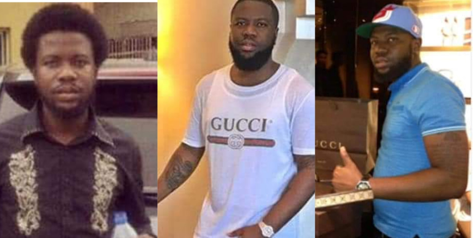 Checkout Throwback Pictures Of Ray Hushpuppi