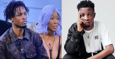 #BBNaija: I Love The Way You Look Out For Me – Laycon To Vee (Video)