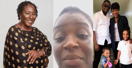 """""""I Need To Speak To You My Dear Daughter""""- Patience Ozokwor Reaction To Chacha Eke's Marriage Crisis Will Make You Cry"""