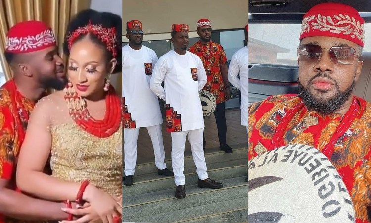 Photos and Videos from Williams Uchemba's traditional wedding