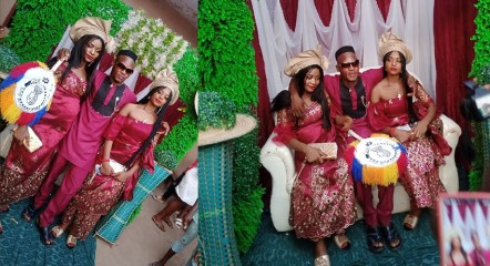 Man Marries Twin Sisters Because One Can't Live Without The Other (Video)