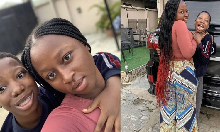 Emmanuella Flaunts Her Newly Purchased Expensive Car As She Wishes Fans A Happy New Year [Photos]