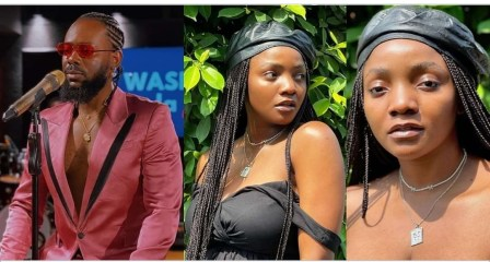 Nigerians reacts to 'rumors' that Adekunle Gold cheated on Simi while she was pregnant