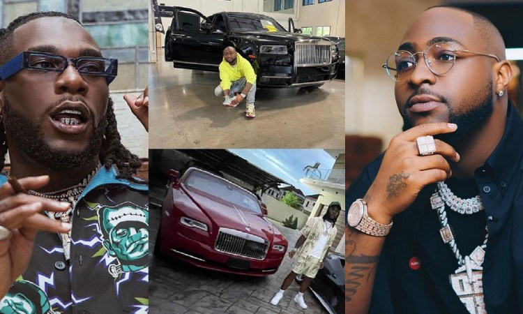 """""""Burna Boy's Rolls Royce Is More Expensive Than Davido's New Whip"""" – Burna Boy's PA, Manny Claims"""
