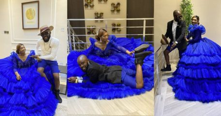 Chief Imo and wife celebrate their 10th wedding anniversary with lovely photos