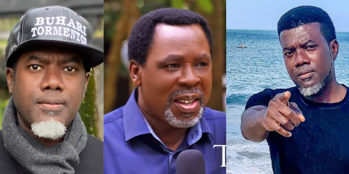 """Shut up and mourn him in peace , do not judge him"""" – Reno Omokri slams those mocking the death of Prophet T.B. Joshua"""