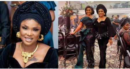 Love and light' Fans react as Actress Iyabo Ojo, and Mercy Aigbe settle their beef