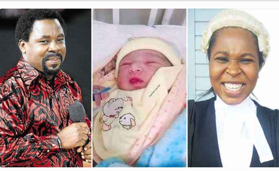 Prophet TB Joshua daughter gives birth to her father look alike on his birthday (Photos)