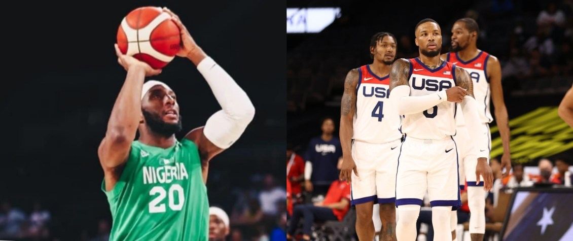 D'Tigers Of Nigeria basketball team beat USA, the number1 best in the world (video)