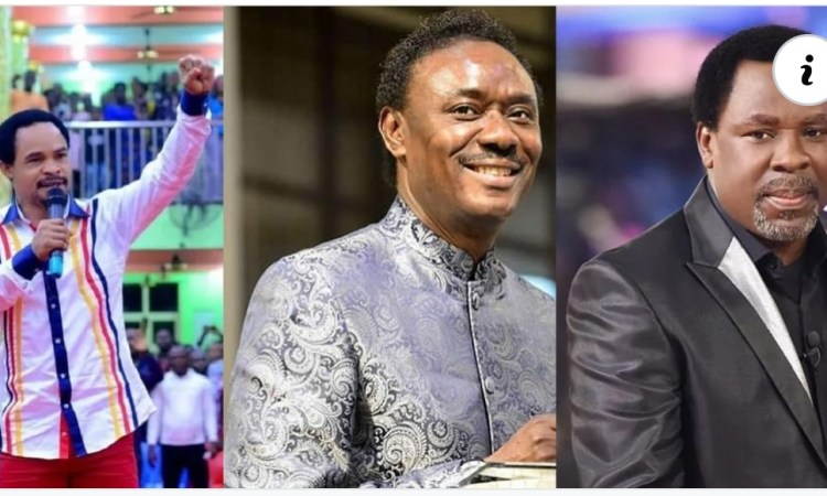 You Need Hot Slap, We Have Respected You Enough Stop talking ill of Him - Prophet Odumeje Blast Chris Okotie for condemning TB Joshua (video)
