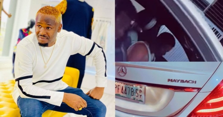 Zubby Michael Gifts Himself A Brand New Mercedes Maybach (video)