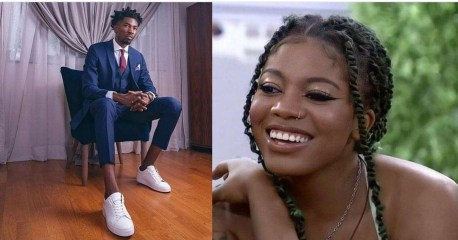 """#BBNaija : """"If its not because of me, Angel who have been Disqualified """" – #BBNaija2021 Housemate Boma brags"""