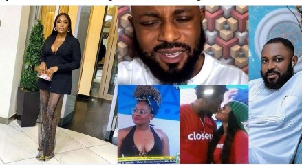 """""""Cover her shame and hear from her""""- Blessing Okoro berates Tega's husband, Ajebor for granting an interview discussing her relationship with Boma"""