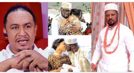 """""""Who recorded it and for what purpose was it recorded?"""" – Daddy Freeze queries Kpokpogri after he denied leaking the audio of Tonto Dikeh begging him"""
