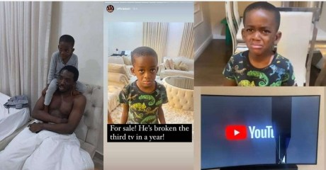 Comedian Bovi puts his last son up for 'sale' after he broke their TV set for the third time this year