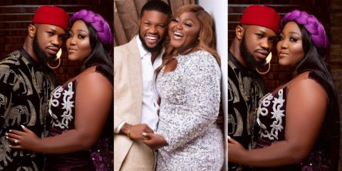 Nollywood actors, Stan Nze and Blessing Obasi set to tie the knot; release pre-wedding photos