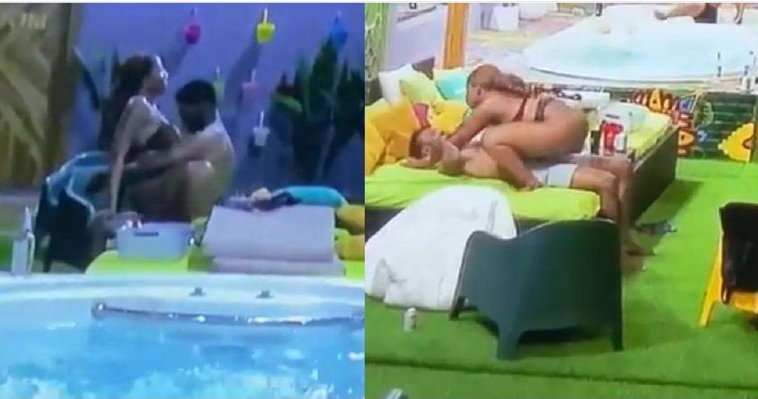 #BBNaija steamy Moment : Angel overpowers Yousef with her erotic dancing (Video)