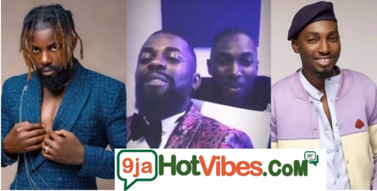 #BBNaija: Michael And JayPaul Spotted Together In The Studio, The Duo Are Set To Release A Song Together (watch the video)