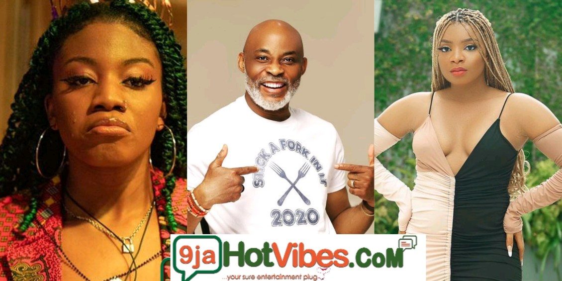 #BBNaija: We can Date RMD, We All Have Sugar Daddies - #BBNaija2021 Housemates Angel And Queen Reveals They Dates Men Above 50 years (video)