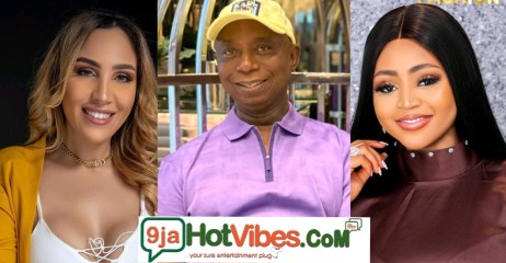 Trouble Looms As Ned Nwoko Wife's Regina Daniels And Laila Unfollows Each Other