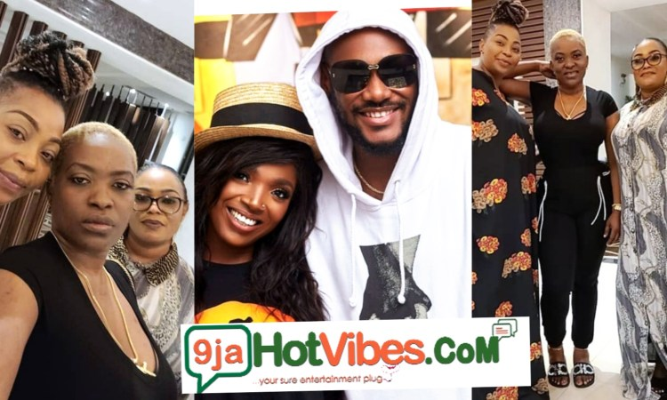 Pero Endorse By 2face Family As They Recognise Her As The First Lady After Their Meeting In Abuja (Photos)
