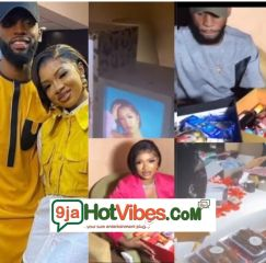Popular Emmarose shippers gives the two love birds Emmanuel and Liquorose 2 million naira each, flight tickets to Rome and more