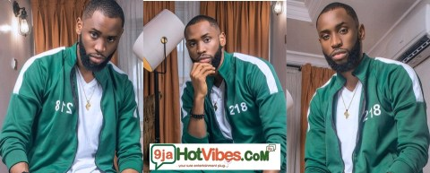 Big Brother Naija finalist, Emmanuel appears in Netflix's Squid Game Outfit causing an uproar among fans .(Photos