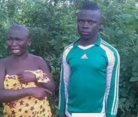 22-years-old Boy Caught Raping an Old Woman