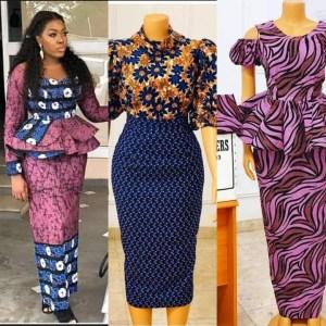 2020/2021 Latest Ankara Long Skirt and Blouse Styles for Wedding