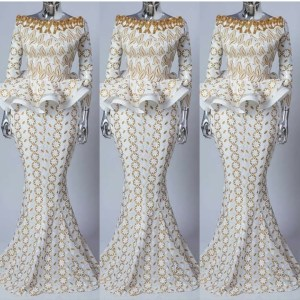 2021 Latest Cord net Lace Styles for Weddings and Aso Ebi