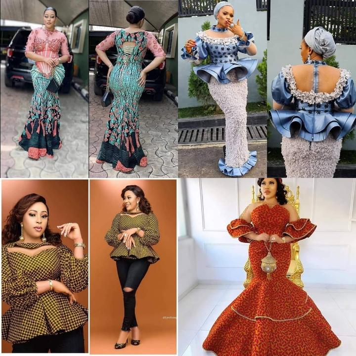 15 New Aso-Ebi Ankara Styles for Ladies in 2021