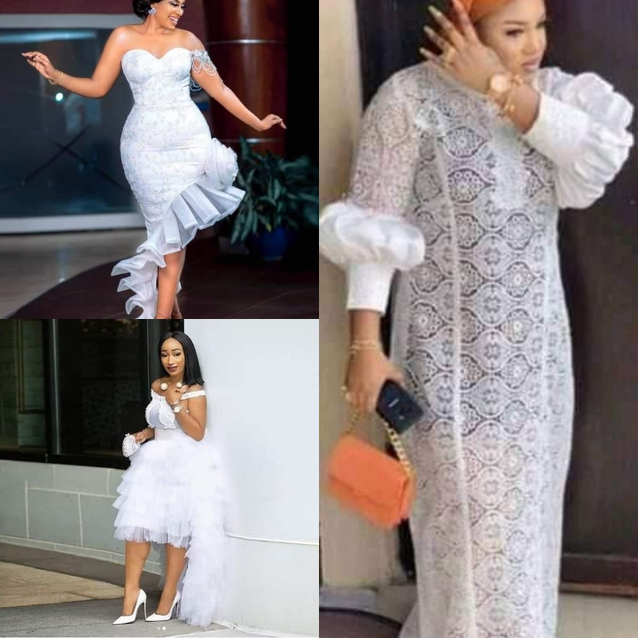 White Net Cord Lace Styles for Ladies Reigning right Now