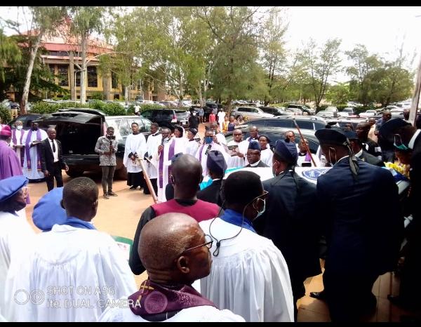 Enugu Diocese Mourns Very Rev Chike Ikeotuonye Nwizu