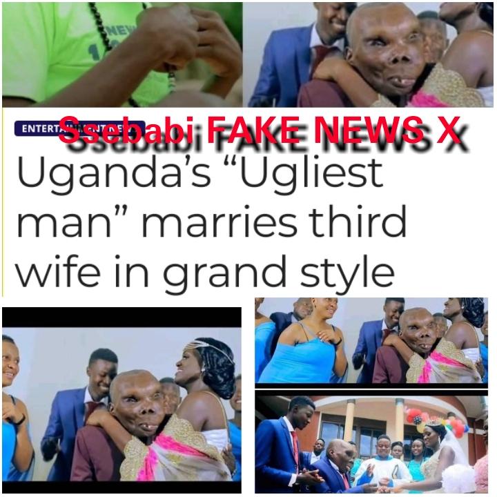 Godfrey Baguma in 2021 - The Ugliest Man in the World