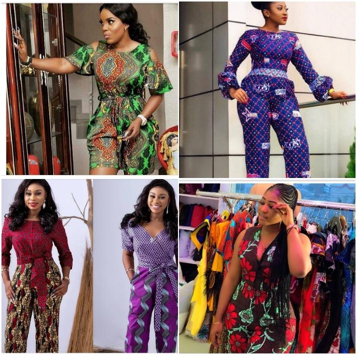 Ankara Jumpsuit Styles For Ladies 2020/2021