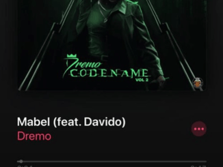Download Mp3: Dremo - Mabel Ft. Davido