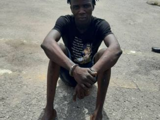 Lagos Police Arrests Notorious Armed Robber Who Has Been Terrorizing Residents Of Langbasa In Ajah