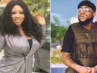Wunmi Toriola shows solidarity to Davido over perceived envy