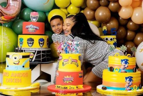 Tonto Dikeh's son, King Andre gets 2 acres of cashew plantation as birthday gift