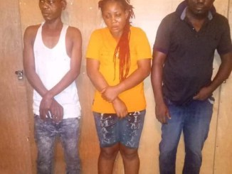 Female one-chance robber, two accomplices arrested in Rivers State