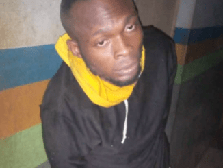 Former staff arrested inside water tank after burgling his boss's office in Ogun (photo)
