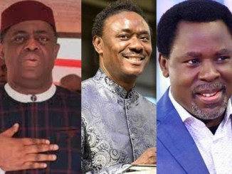 If anyone is a wizard, it is you. God will punish you - FFK slams Rev Chris Okotie for 'insulting' late Prophet T.B Joshua