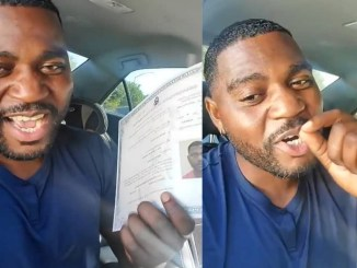 """""""If you are happy for me, God will do same for you""""- Actor Bigvai Jokotoye prays for other Nigerians as he becomes a US citizen (video)"""