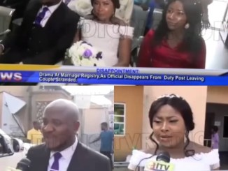 Intending couple left stranded afterregistrar who was supposed to officiate at their weddingtravels out of Edo for a burial; FG reacts(video)