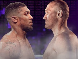 My fight with Tyson Fury has to happen. It's bigger than boxing, bigger than the belts - Anthony Joshua