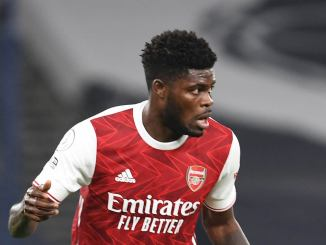 Partey explains why he changed Arsenal shirt number
