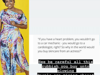 Why in the world would you buy skincare from an actress?- media personality Shade Ladipo asks Nigerians