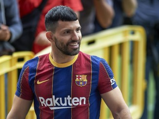 Aguero to play backup role at Barca after City move